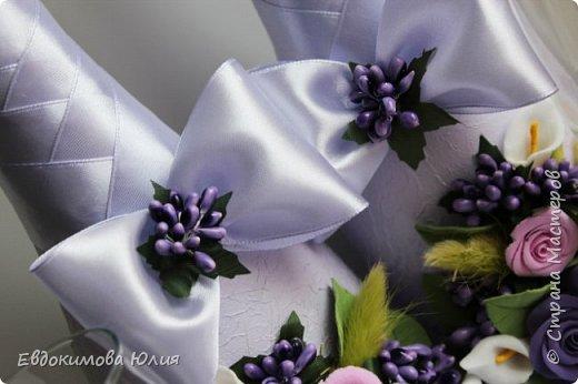 Сиреневая свадьба фото 6