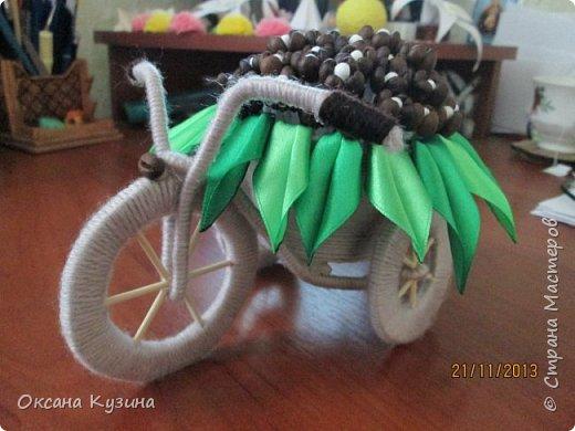 кофейный велосипед