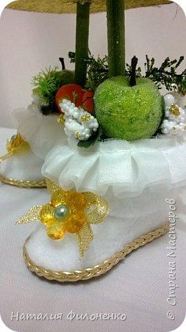 Вот такой наборчик сделала на Новый год. Цветы из атласной ленты плюс декор. фото 13