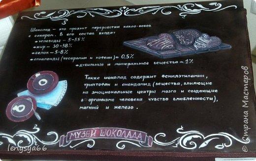 Здравствуйте, дорогие соседи! 11 января белорусскому шоколаду исполнилось 110 лет. Именно в этот день в далеком 1905 году в Минске открылась первая кондитерская. А ровно месяц назад в Витебске открылся первый в Белоруси музей шоколада. Находится он на первом этаже обыкновенного жилого дома. А побывали мы там целой компанией- к нам в гости на 18-летие мой дочери Яны приехала моя сестра Юля с дочерью Дашей из Ростова-на Дону. Встретили нас две приветливые женщины- директор музея Любовь Иванова со свой помощницей. Чтобы было поменьше исскушения попробовать сладкие экспонаты вместе с билетами нам вручили по маленькой шоколадке фото 8