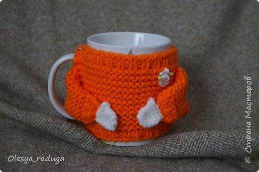 Однажды заказали мне связать свитерочки на кружки...Время шло...свитерочки вязались... фото 6