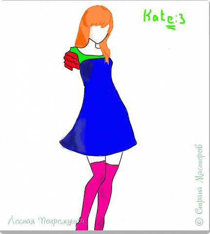 """Привет!! Меня зовут Катя! Я уже около полу года рисую в Paint Tool SAI. Я не очень хорошо рисую, но решила вам показать мои """"творения"""". Да, я знаю, Тени не в том месте. Руки и лицо я не рисую. Я могу нарисовать руки, но без кистей (Плохо выходит). Поэтому в основном я рисую только одежду и волосы (ну и иногда руки)."""