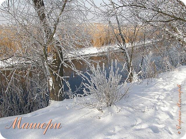 В глазах грусть и растерянность. И это - несмотря на красоту, хрупкость и изящность образа.  Его полное имя - Зимний день в Донецке 13 января 2015г. фото 3