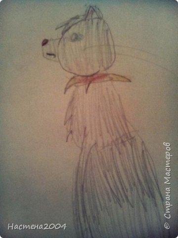 """Коты -воители. Бич и Костяк: """"А у Речного племени нет таких штучек как у нас..."""" Все рисунки выполнены фломастерами и карандашами. фото 8"""