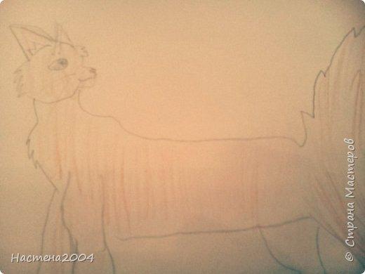 """Коты -воители. Бич и Костяк: """"А у Речного племени нет таких штучек как у нас..."""" Все рисунки выполнены фломастерами и карандашами. фото 12"""