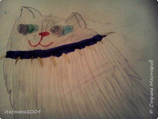 """Коты -воители. Бич и Костяк: """"А у Речного племени нет таких штучек как у нас..."""" Все рисунки выполнены фломастерами и карандашами. фото 18"""