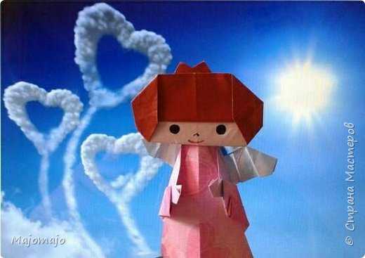 Оригами Ангел  фото 1