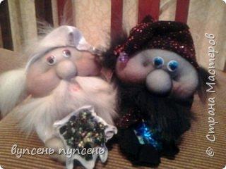 """Как то от скуки просматривала ролики на ютюбе и наткнулась на мастер класс Елены Володкевич """" как сшить куклу попика"""", попробовала - получились вот такие озорные мордaшки  фото 3"""
