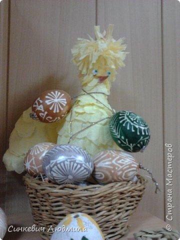 """бутылка """"Цветочек"""" декорирована яичной скорлупой и льняной нитью фото 8"""