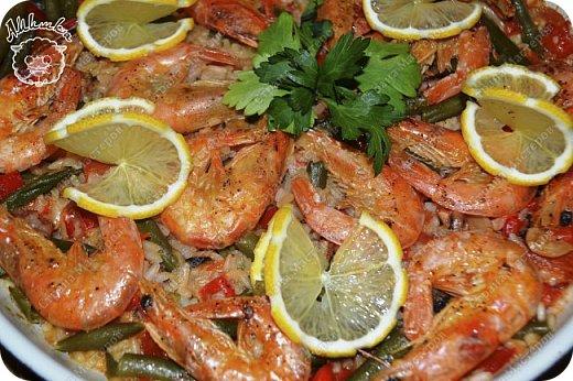 Паэлья - это повсеместное испанское блюдо со множеством вариантов приготовления.  Очередной заказ мужа ))) фото 16