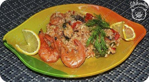 Паэлья - это повсеместное испанское блюдо со множеством вариантов приготовления.  Очередной заказ мужа ))) фото 18
