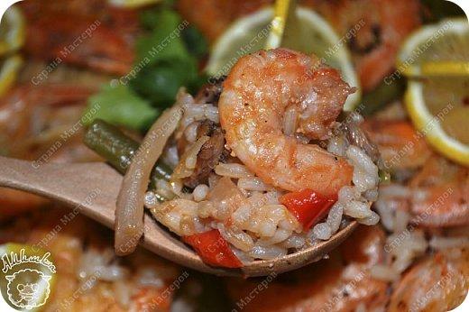 Паэлья - это повсеместное испанское блюдо со множеством вариантов приготовления.  Очередной заказ мужа ))) фото 20