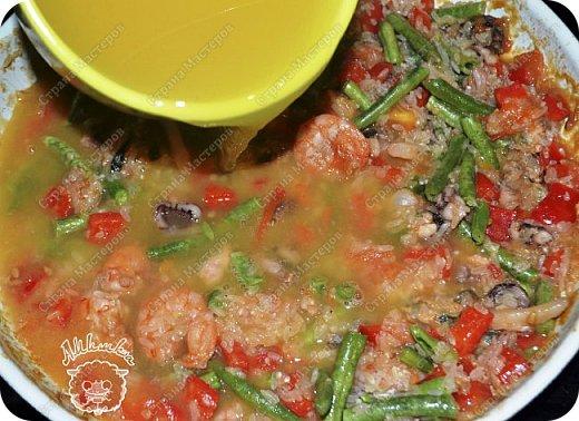 Паэлья - это повсеместное испанское блюдо со множеством вариантов приготовления.  Очередной заказ мужа ))) фото 11