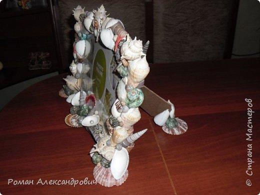 Фото рамка украшена ракушками 2 фото 2
