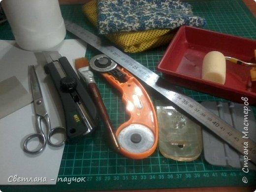 Очень надо  было сделать шкатулочку для хранения ниток ,ножниц и т.д.Размерчик получился внушительный-27х22х10 см фото 9