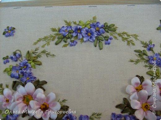 Доброго времени суток дорогие рукодельницы! Вот такой веночек полевых цветов я вышила.  Работа пока без рамки. фото 4