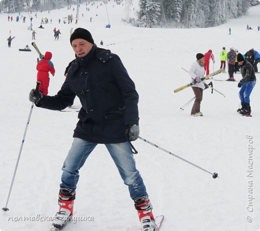 На 50-летний юбилей мужа, я подарила ему путевку на новогодние праздники в Карпаты, естественно на два человека ,т.е на него и себя)).Приехали мы в Прикарпатье 30 декабря утром. Вот такой красотой нас встретили горы. фото 49