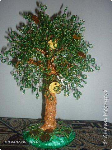 Вот такое деревце я сделала в подарок.