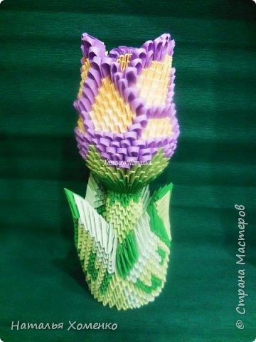 Ваза Цветок Бумага фото 1