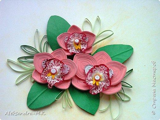 Орхидеи по МК Анастасии Бертовой https://stranamasterov.ru/node/772658?c=favorite фото 2