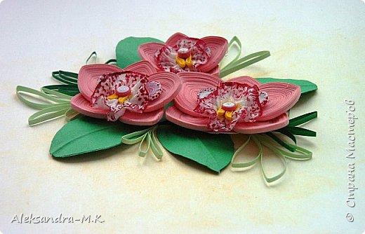 Орхидеи по МК Анастасии Бертовой https://stranamasterov.ru/node/772658?c=favorite фото 3