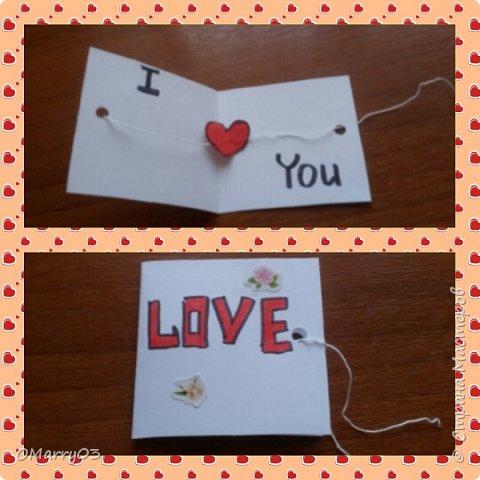 Валентинка для любимого человека.  фото 1
