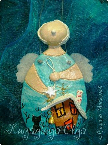 Доброго вам дня, милые мои! С любовью для вас смастерила такого ангелочка! Идея Светланы  Виноградской! Обожаю ее работы и не раз их уже повторяю! Огромное спасибо этой удивительной женщине! А вас, пусть всегда оберегает ваш Ангел- Хранитель! фото 2
