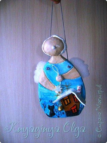Доброго вам дня, милые мои! С любовью для вас смастерила такого ангелочка! Идея Светланы  Виноградской! Обожаю ее работы и не раз их уже повторяю! Огромное спасибо этой удивительной женщине! А вас, пусть всегда оберегает ваш Ангел- Хранитель! фото 5