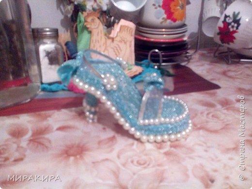 Вот моя первая туфелька фото 3