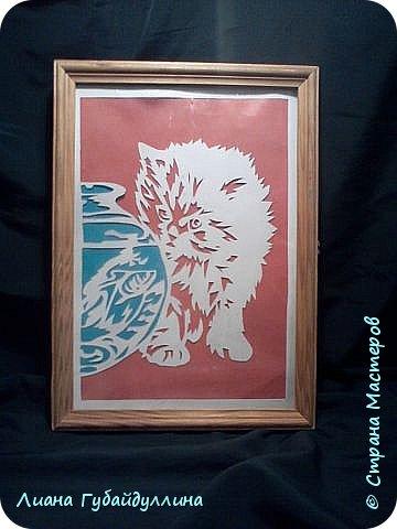 Котёнок+шаблон фото 1