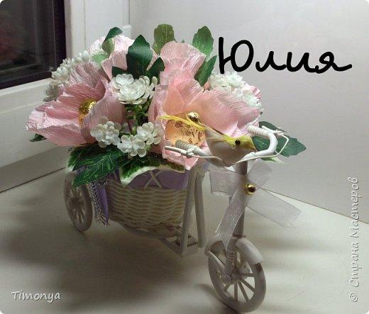 Цветочный велосипед фото 4