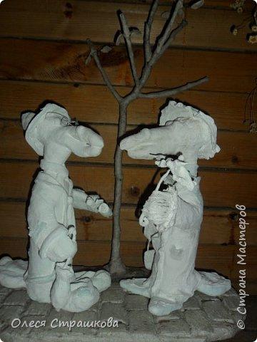 А вот и мои вороны!!! Обожаю их!!! Было задумано свидание, вечером под деревцем, так и вышло) фото 14