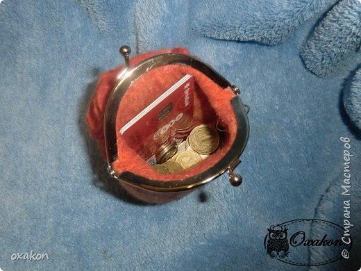 """Кошелек """"Рыжий пион"""" фото 4"""