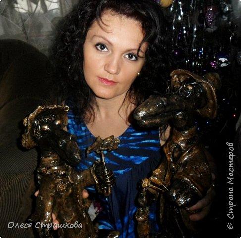 А вот и мои вороны!!! Обожаю их!!! Было задумано свидание, вечером под деревцем, так и вышло) фото 15