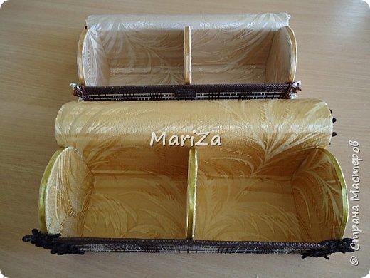 Шкатулки из бамбуковых салфеток Страна Мастеров 37