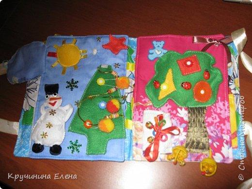 книжка малышка! текстильная, развивающая книга для  маленьких детей.  фото 3