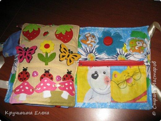 книжка малышка! текстильная, развивающая книга для  маленьких детей.  фото 4