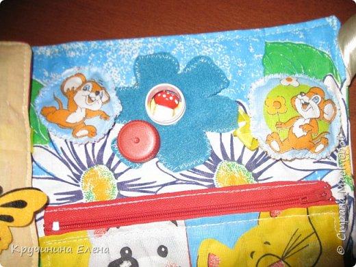 книжка малышка! текстильная, развивающая книга для  маленьких детей.  фото 5