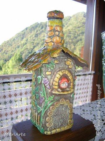 Идею этого домика я подсматрела у мастерицы Николета фото 4