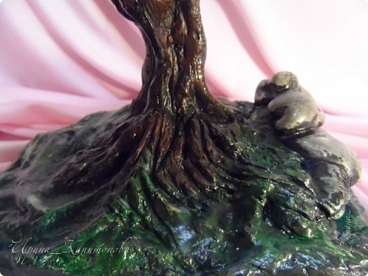 Доброго времени суток всем жителям Страны Мастеров!!! Наконец то я решилась сплести бонсай:) Долго выбирала какое деревце буду создавать, остановилась на глицинии ...........это то что у меня получилось....:) фото 3