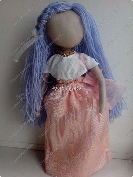 Кукла из чулка Мастер-класс фото 7