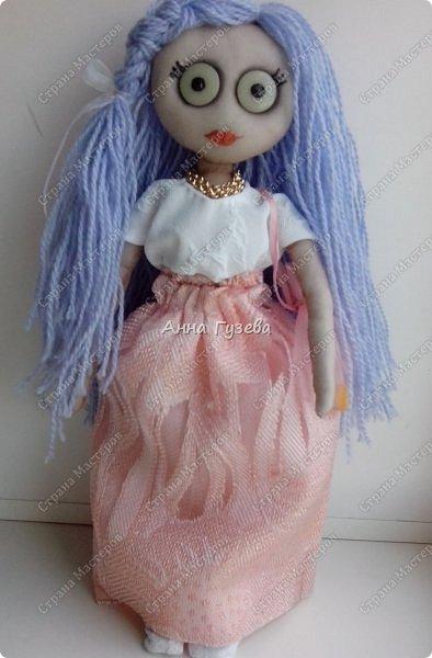 Кукла из чулка Мастер-класс фото 10