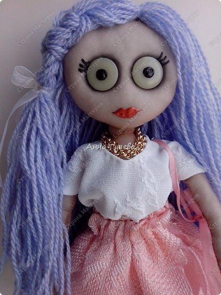 Кукла из чулка Мастер-класс фото 1
