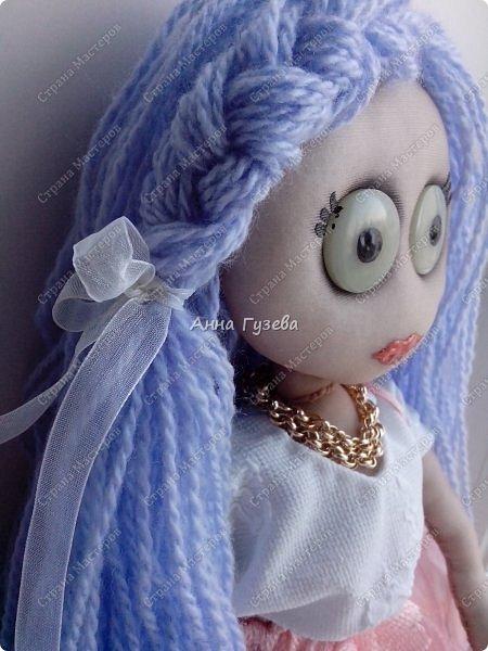 Кукла из чулка Мастер-класс фото 9