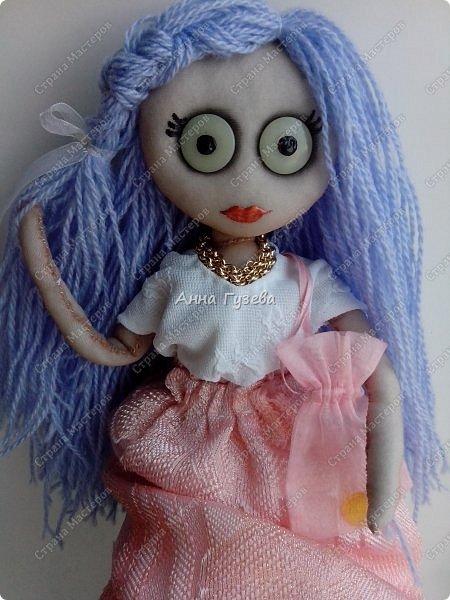Кукла из чулка Мастер-класс фото 11