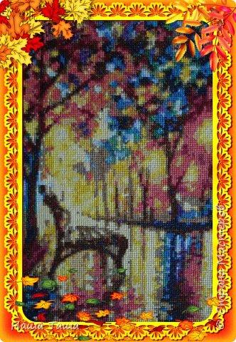 Вдохновением явилась картина художника Л. Афремова. фото 4