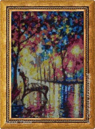 Вдохновением явилась картина художника Л. Афремова. фото 1