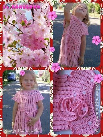 Прекрасное легкое платьице на девочку 2.5-3.5 лет. фото 1