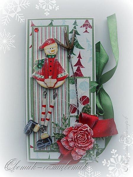 Покажу последние шоколадницы прошлого года и попрощаюсь с Новогодними праздниками:) До свидания, Новый год! Фотографии серые, но поверьте мне на слово: первые две - очень нежные, а третья яркая:)  фото 15