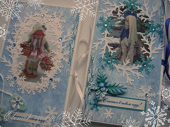 Покажу последние шоколадницы прошлого года и попрощаюсь с Новогодними праздниками:) До свидания, Новый год! Фотографии серые, но поверьте мне на слово: первые две - очень нежные, а третья яркая:)  фото 2